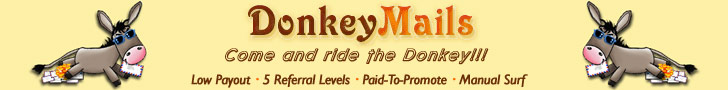 DonkeyMails.com - No Minimum Payout